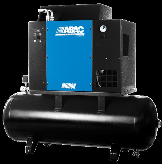 Ремонт винтового компрессора ABAC MICRON 4 - 270 8
