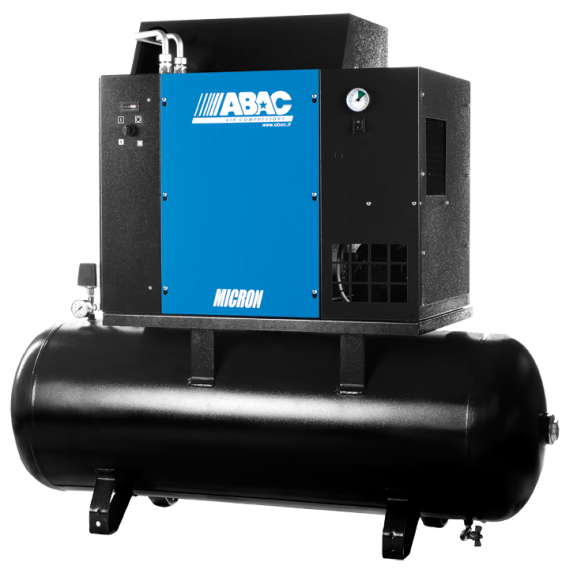 Ремонт винтового компрессора ABAC MICRON.E 15 - 500 8
