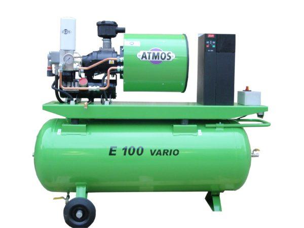 Ремонт винтового компрессора ATMOS Albert E100 Vario-R