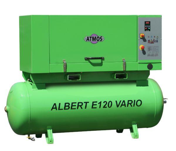 Ремонт винтового компрессора ATMOS Albert E120 Vario-KR