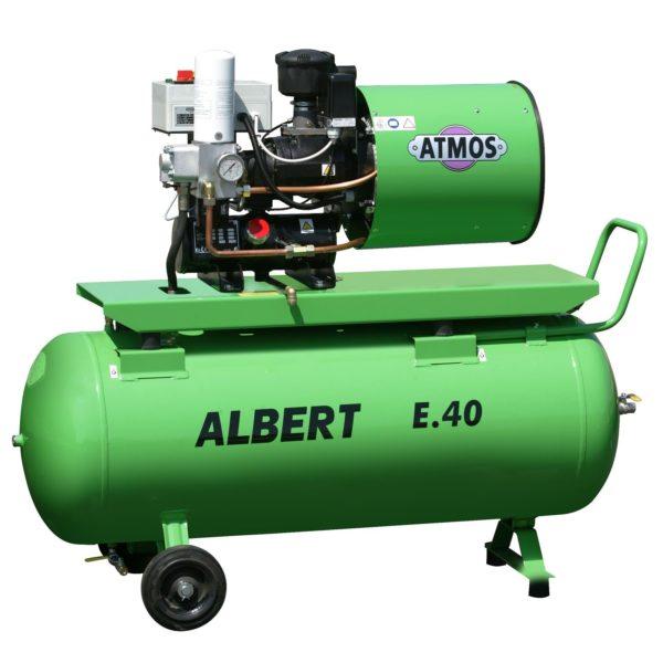 Ремонт винтового компрессора ATMOS Albert E40