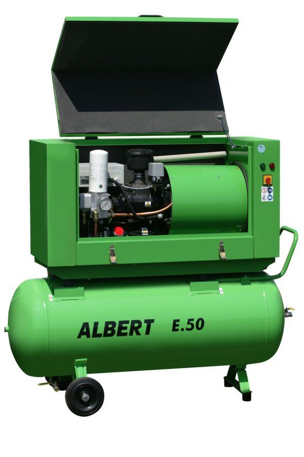 Ремонт винтового компрессора ATMOS Albert E50-10