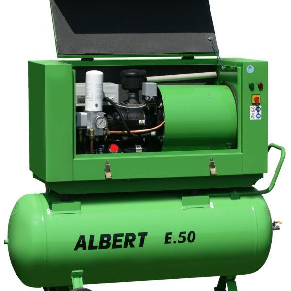 Ремонт винтового компрессора ATMOS Albert E50