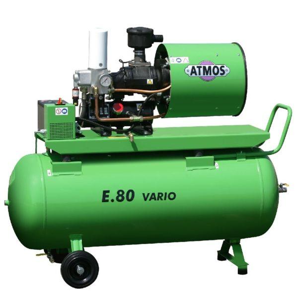 Ремонт винтового компрессора ATMOS Albert E80 Vario