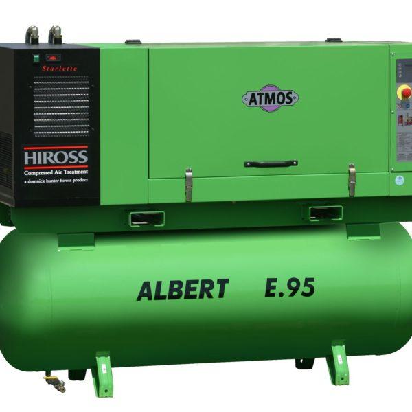 Ремонт винтового компрессора ATMOS Albert E95-10-KR