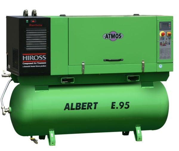 Ремонт винтового компрессора ATMOS Albert E95-KR