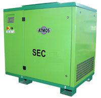 Ремонт винтового компрессора ATMOS SEC 221 Vario 13