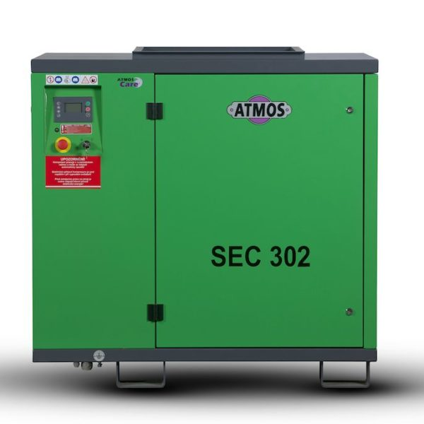 Ремонт винтового компрессора ATMOS SEC 302 7.5