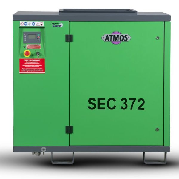 Ремонт винтового компрессора ATMOS SEC 372 7.5