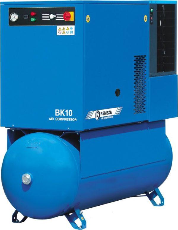 Ремонт винтового компрессора REMEZA ВК10-8-500Д