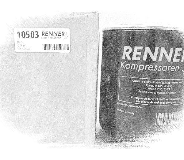 10503 фильтр масляный Renner