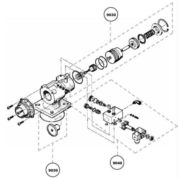 Ремкомплект впускного клапана Kraftmann