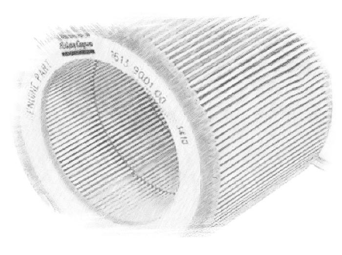 Воздушный фильтр Atlas Copco