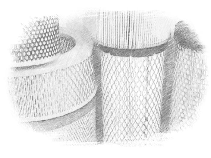 Воздушный фильтр для компрессора